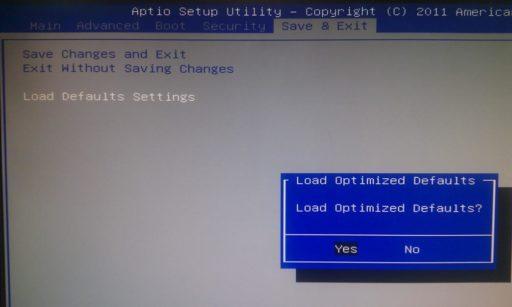 Как сбросить биос Windows 10