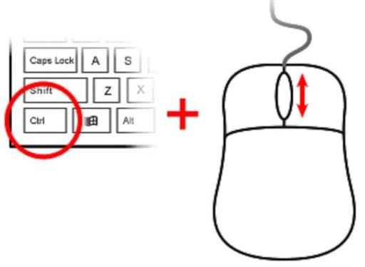 Маленькие ярлыки на рабочем столе Windows 10 можно быстро увеличить